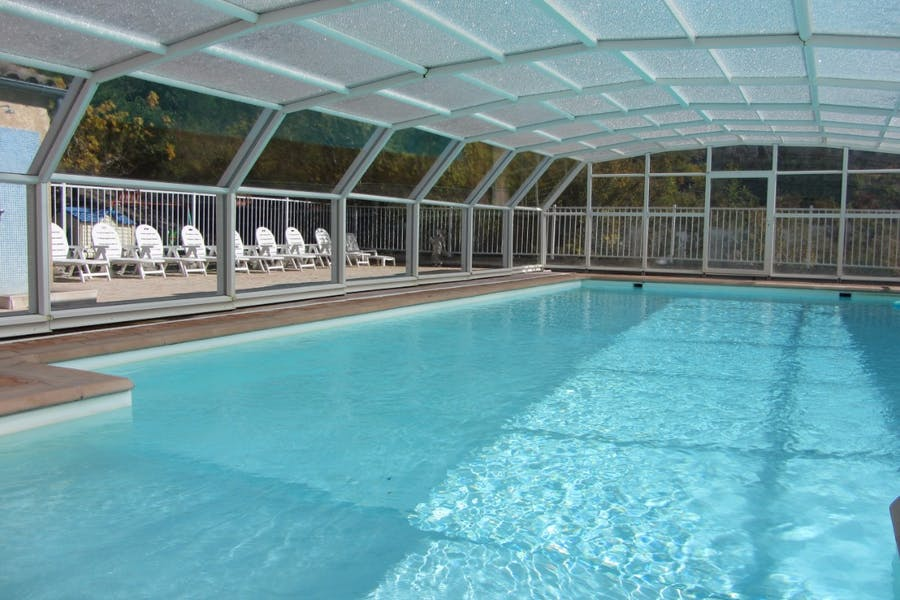 Vue sur piscine